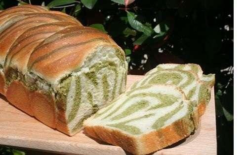 pane variegato agli spinaci