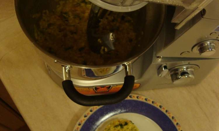 Risotto alle zucchine e pancetta