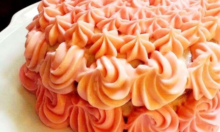 Pink Choco cake