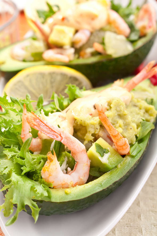 Barchette d'avocado