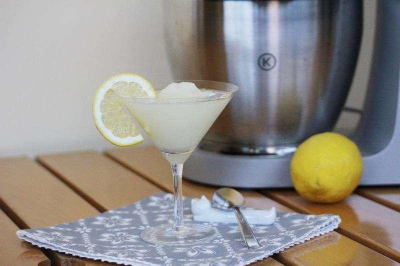 Sorbetto veloce di limone
