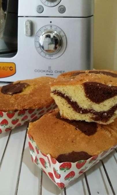 Plum-cakes variegati al cacao