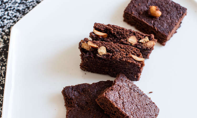 Brownies al burro salato