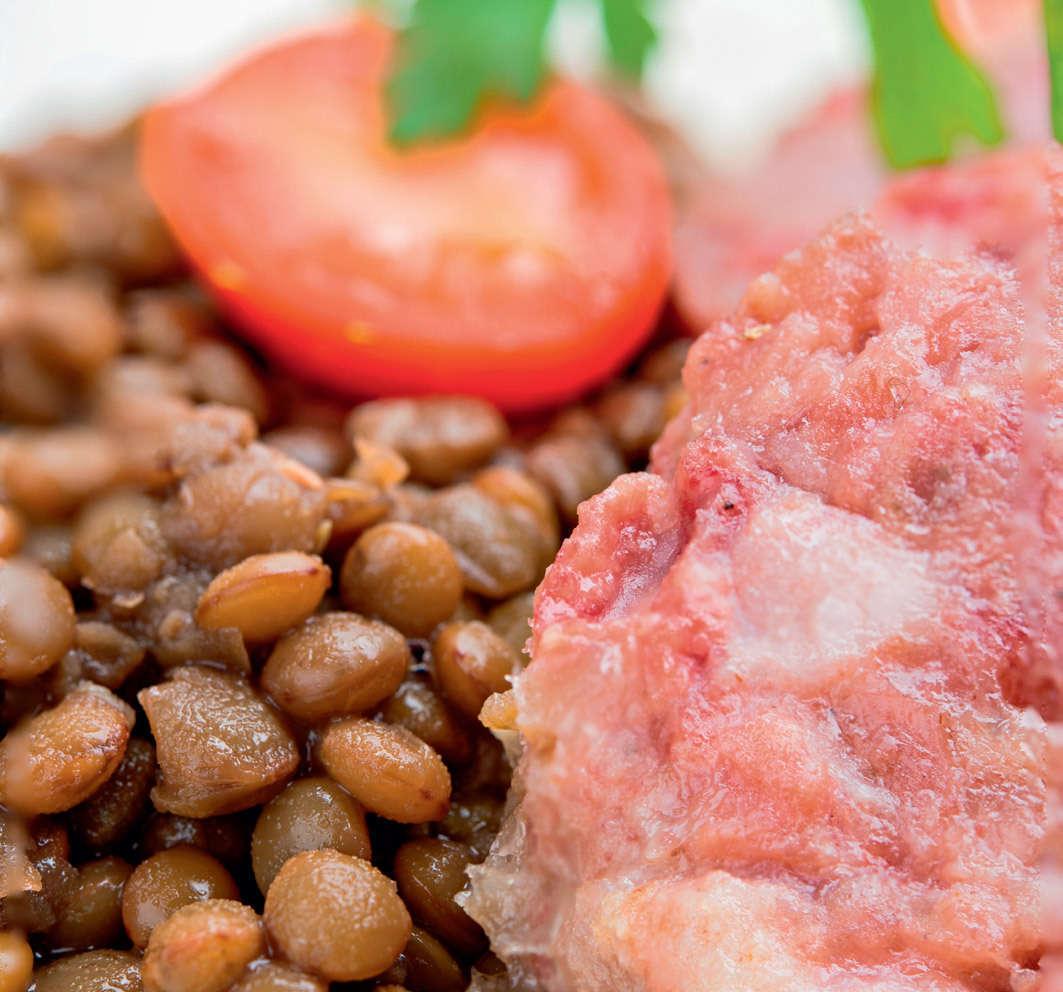 Risotto con castagne, lenticchie e cotechino