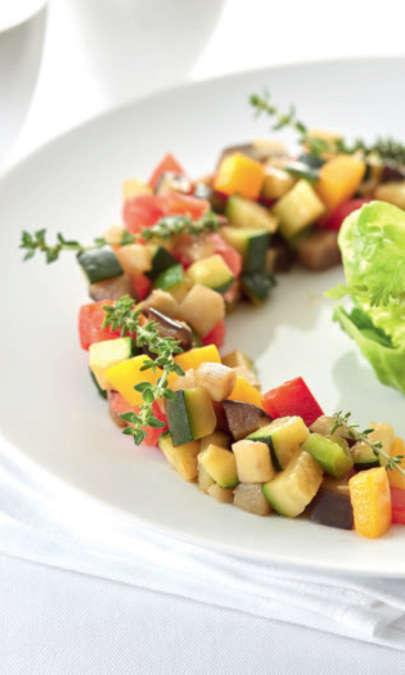 Ratatouille con Cooking Chef Gourmet