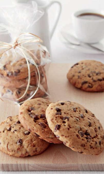 Cookies con pepite di cioccolato