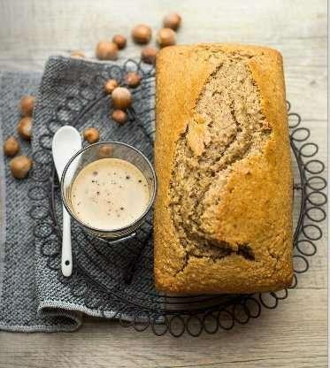 Cake al caffè e nocciole