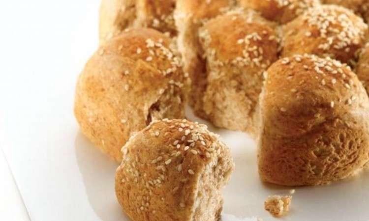 Pane con semi di sesamo