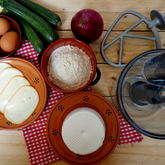 Preview quiche zucchine e formaggio ingredienti dsc01028