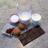 Preview ingredienti gelato cioccolato e peperoncino