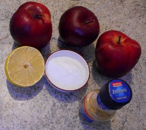 Big ingredienti crema di mele e zenzero